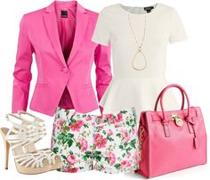 """""""BLAZER AND SHORS #1"""" by ele88na ❤ liked on Polyvore"""