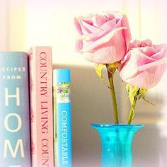 pink rose and stack of books - Live lusciously with LUSCIOUS.jpg