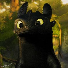 How to Train Your Dragon! Toothless is too cute. You can listen to the soundtrack free on hoopla with your public library card! https://www.hoopladigital.com/title/11103933