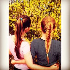 SPRING. BESTFRIEND. SISTERS. FISHTAIL.