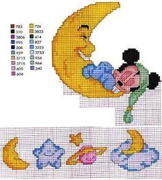 Risultati immagini per ponto cruz bebe graficos disney
