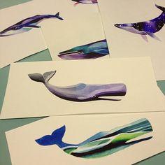 Whale Flash http://www.noregretsstudios.co.uk/watercolour-like-tattoos-by-sasha-unisex/