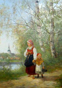 Johan Severin Nilson (1846-1918)
