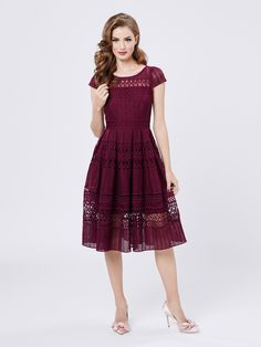 Saint Petersburg Dress   Very Berry   Dresses
