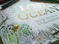 Lost Ocean Cover Coloring BooksOceanLost