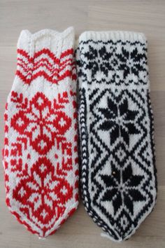 Patterns Knit Mittens, Mitten Gloves, Fair Isle Knitting, Nordic Style, Knit Crochet, Sewing, Handmade, Patterns, Nutrition Meal Plan