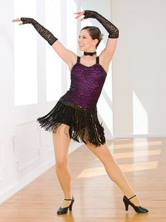 Because We Can - Style 0509 | Revolution Dancewear Jazz/Tap Dance Recital Costume