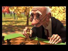 Pixar - Geri's Game [ORIGINAL AUDIO] - YouTube