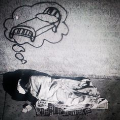 LA Graffiti Artist Skidrobot Humanizes Homeless People By Painting Their Dreams 2014 Art Deco Bedroom, Dark Art Drawings, Homeless People, National Art, 10 Picture, Street Art Graffiti, Street Artists, Photos, Pictures