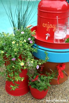 1000 images about we love container gardens on pinterest decorative planters better homes - Better homes and gardens container gardening ...