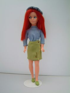 Welcome to our Sindy museum, our online reference site for Pedigree Sindy doll outfits 1963 to Green Cotton, Cotton Lace, Date Outfits, New Outfits, Denim Top, Blue Denim, Red Hair Doll, New Dolls, Dolls Dolls
