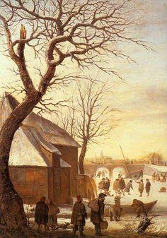 Зима на картинах малых голландцев - Art Tower
