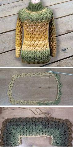 Fabulous Crochet a Little Black Crochet Dress Ideas. Georgeous Crochet a Little Black Crochet Dress Ideas. Easy Crochet Projects, Crochet Crafts, Crochet Yarn, Crochet Stitches, Crochet Winter Dresses, Black Crochet Dress, Crochet Clothes, Pull Crochet, Love Crochet