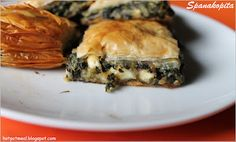 Spanakopita    Just made some last night. SO good <3