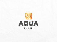 Aqua Sushi Logo