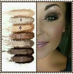 Just look at this gorgeous look achieved using Moodstruck Addiction Shadow Palette . Www.youniqueproducts.com/letbeautyshine