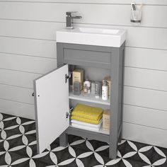 Every cloakroom deserves a small vanity unit! Our cloakroom vanity units include slim line vanity unit choices in different colours, wall hung & freestanding. Cloakroom Toilet Downstairs Loo, Small Bathroom Sink Vanity, Cloakroom Vanity Unit, Sink Vanity Unit, Bathroom Storage Units, Toilet Storage, Vanity Units, Bathroom Grey, Cloakroom Ideas