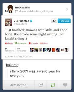 2009 was weird...