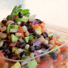 Cowboy Caviar recipe. This stuff is the best!!!!! Its similar to pico di gallo but with more nummy ingredients!