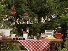 decoracion decoration mesa italiana ambientacion