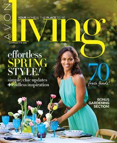 Avon Living Avon Campaign 9 2016 - Style With Taren