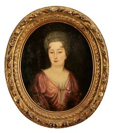 Retrato de Senhora, escola portuguesa séc. XVIII, Cabral Moncada Leilões