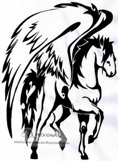 The 37 Best Tribal Horse Tattoo Images On Pinterest Tribal Horse