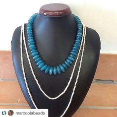 #Repost @marcoolabeads with @repostapp  Blue QTZ Hilltribesilver#sunshine #beach #marcoolabeads #beads #hilltribesilver #handmade #natural #