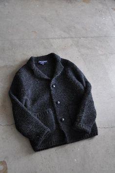 COMME des GARCONS HOMME Garter Hand-Knit 3B JK w/tax ¥51450