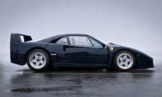 Ferrari Clásico Negro