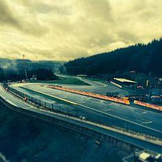 Start/Finish Line at the Formula One 2014 #F1 Belgian GP @ Spa-Francorchamps #TeamLH