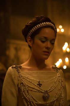 Macbeth actress Marion Cotillard opens up on Shakespeare, Michael Fassbender, The Scottish Play, and superstitions.