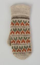 Vante - Bohusläns museum / DigitaltMuseum Knit Mittens, Mitten Gloves, Knitting Socks, Hand Knitting, Knitted Hats, Knitting Patterns, Fair Isle Knitting, Knitting Accessories, Vintage Knitting