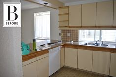 Before & After: An Unbelievable DIY IKEA Kitchen Renovation for $20k