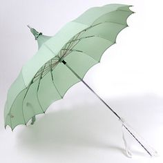 Mint Green Umbrella. So pretty