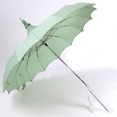 Mint Green Umbrella. So pretty