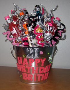 I made my own Etsy Shop! Check it out :) Birthday Shot Bouquet. $75.00