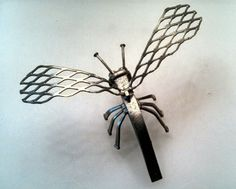 Metallic firefly #scrapmetal