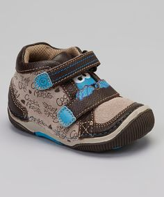 Take a look at this Brown  amp  Blue SRT Cookie Monster Sneaker by Stride  Rite 8483a4d85697