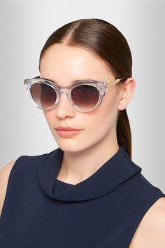 Thierry Lasry | Perky cat-eye acetate sunglasses | NET-A-PORTER.COM