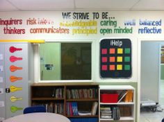 IB learning profiles displayed in my 5th Grade classroom at Iman Academy SW in Houston, TX :)