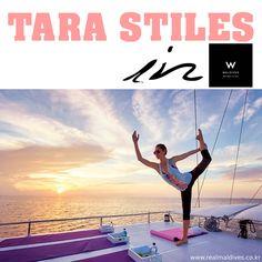 전직 모델이자 요가 강사로 활약중인 '타라 스타일' in W 몰디브  그녀에 대해 더 알고싶으신 분들은 타라스타일.컴 을 방문해보세요~ http://tarastiles.com/