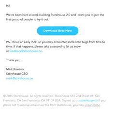 invite email template