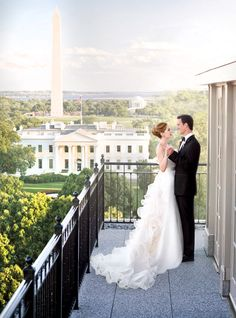 This DC hotel has unbelievable views of the White House right from your room...Politicans are sure to be brunching at The Lafayette Room.