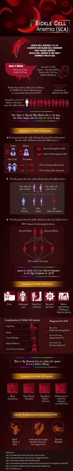 Infographic on Sickle Cell Anemia