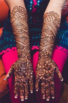 Intricate Mehndi Design