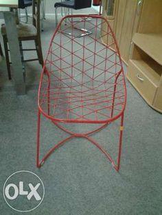 Włoskie czerwone krzesła Essai - wyprzedaż ekspozycji - 2sztuki Poznań - image 1
