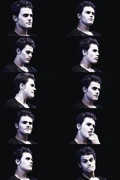 The many beautiful faces of Paul Wesley <3