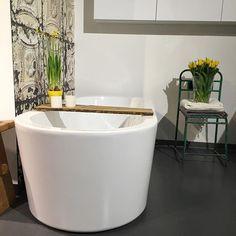 'Spring is in the air! Bathroom at Kvik Amsterdam. Kvik Kitchens. www.kvik.nl