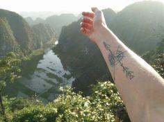 46 Tatuagens para quem é obcecado por viagens - Hostelworld